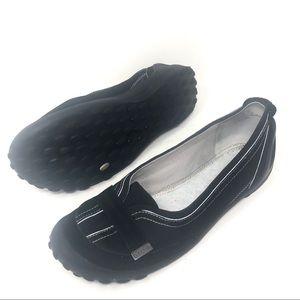 Clarks Privo Women's Slip On Flats Black Size 10 M